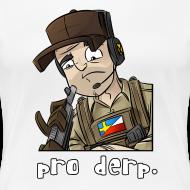 Design ~ Women's Premium T-Shirt: Pro Derp Shooter