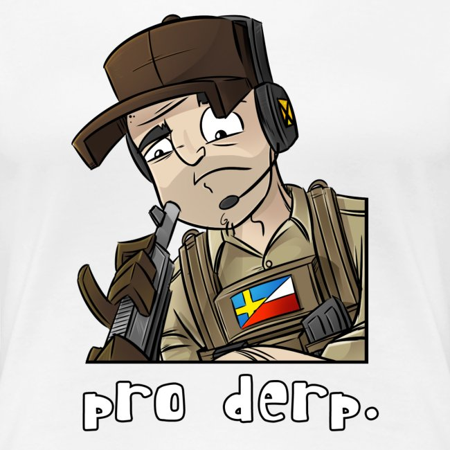 Women's Premium T-Shirt: Pro Derp Shooter