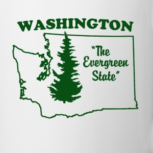 Washington, the Evergreen State Coffee Mug - Coffee/Tea Mug