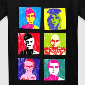 thunderbirds goes warhol style - Kids' T-Shirt