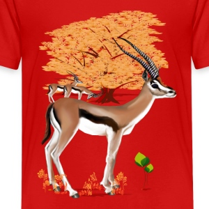 Gazelles n Tree - Kids' Premium T-Shirt