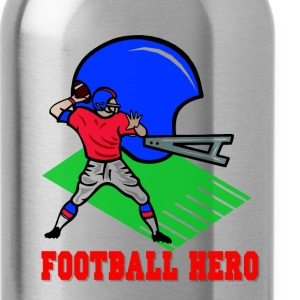 Football Hero Bottles & Mugs - Water Bottle