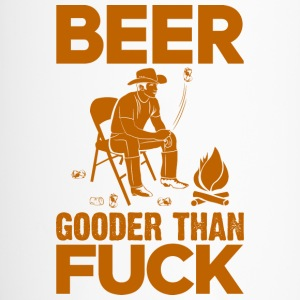 Beer Gooder Than Fuck Orange Bottles & Mugs - Travel Mug