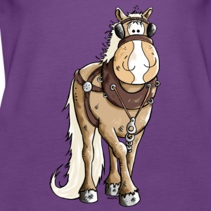 Happy Heavy Horse - Draft Horses Tanks - Women's Premium Tank Top