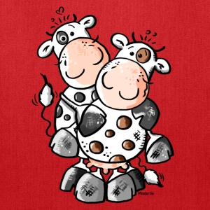 Cuddly Cows - Cow Bags & backpacks - Tote Bag