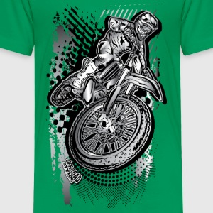 MX Dirt Bike Grunge Baby & Toddler Shirts - Toddler Premium T-Shirt