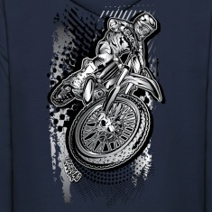 MX Dirt Bike Grunge Hoodies