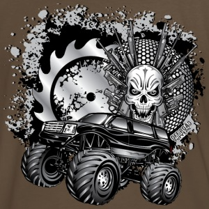Metallic Monster Truck T-Shirts - Men's Premium T-Shirt