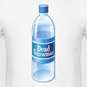 Dead Snowman Melted Bottled Water T-Shirts - Men's T-Shirt