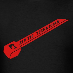 Zip Tie technician - Men's T-Shirt