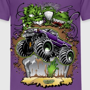 Monster Zombie Truck Baby & Toddler Shirts - Toddler Premium T-Shirt