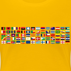 World Flags - Women's Premium T-Shirt