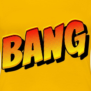 Comic Book Bang - Women's Premium T-Shirt