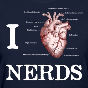 I Heart Nerds Women's T-Shirts - Women's T-Shirt