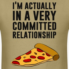 Pepperoni Pizza Love - A Serious Relationship T-Shirts