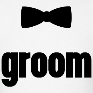 Groom T-Shirts - Men's T-Shirt