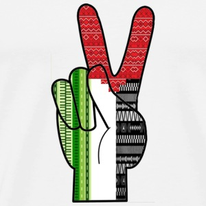 Peace for Palestine - Men's Premium T-Shirt