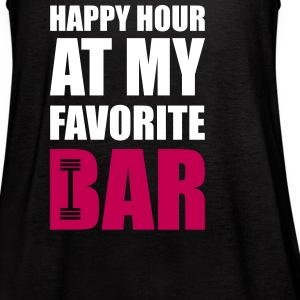 Happy hour at my favorite bar Tanks - Women's Flowy Tank Top by Bella