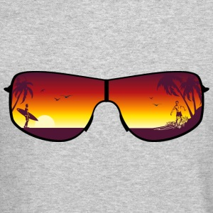 Summer Sunglasses Long Sleeve Shirts - Crewneck Sweatshirt