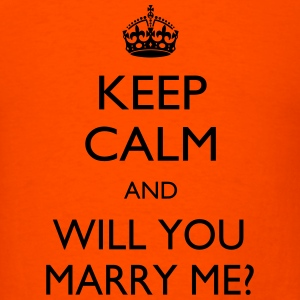 Marry me - Men's T-Shirt