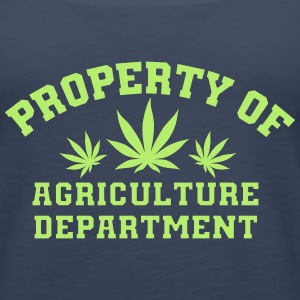 Property Of Agriculture Department - Women's Premium Tank Top