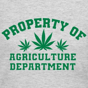Property Of Agriculture Department - Women's Long Sleeve Jersey T-Shirt