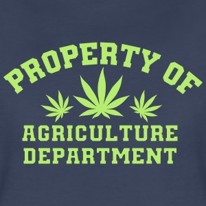 Property Of Agriculture Department - Women's Premium T-Shirt