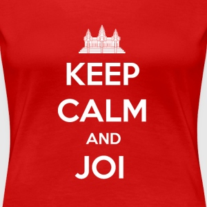 Women's Keep Calm and Joi T-Shirt - Women's Premium T-Shirt
