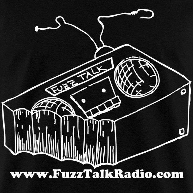 FTR White Logo w/ Web Address