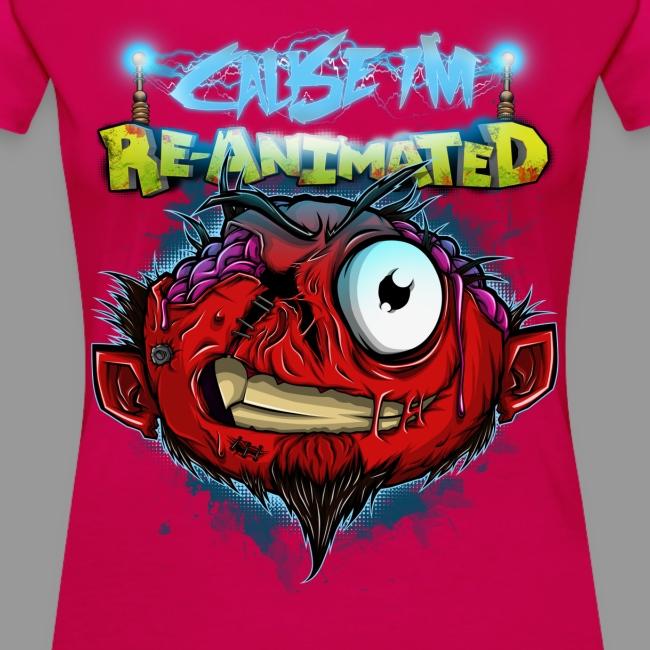 """Premium Women's """"Re-animated"""" Shirt"""