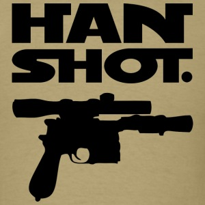 Han Shot. Period. (Mens Cream) - Men's T-Shirt