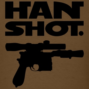 Han Shot. Period. (Mens Brown) - Men's T-Shirt