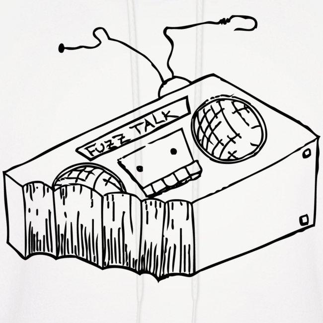 FTR Hoodie w/ Black Logo