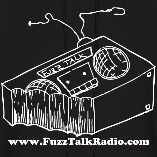 FTR Hoodie w/ White Logo & Web Address