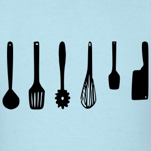 Kitchen Utensils - Men's T-Shirt