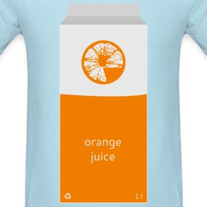 Orange Juice Carton - Men's T-Shirt