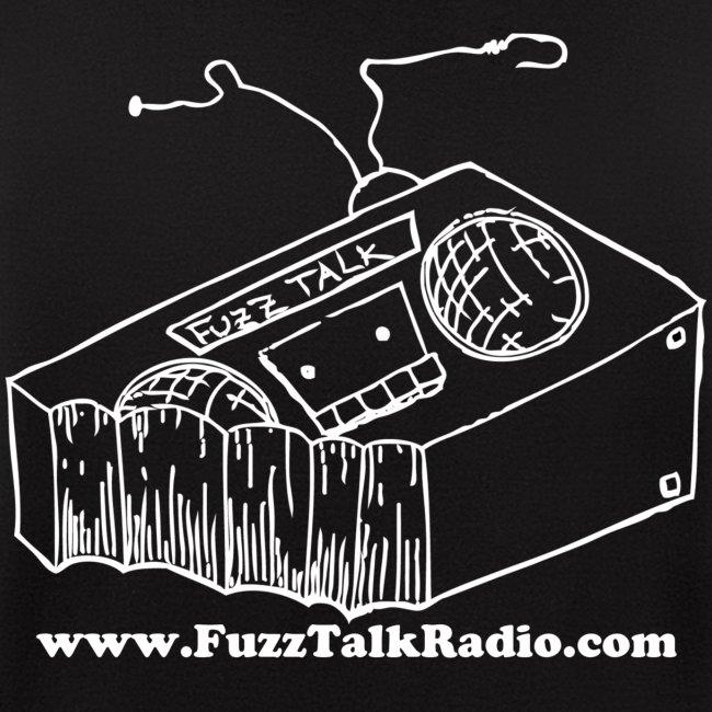 FTR ZippUp White Logo w/ Web Address