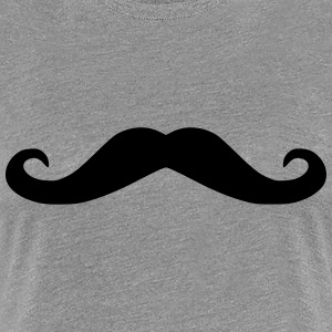 Mustache girls t-shirt - Women's Premium T-Shirt