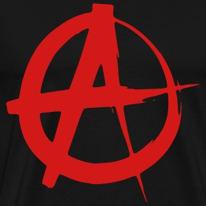 Anarchy symbol - Men's Premium T-Shirt