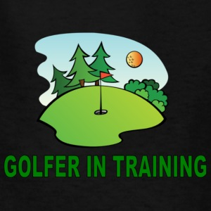 Golfer in Training Kids' Shirts - Kids' T-Shirt