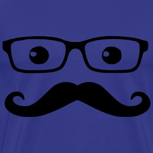 Nerd Glasses T-Shirts - Men's Premium T-Shirt