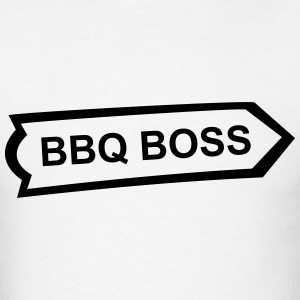 BBQ, Barbecue, cook, chef, meat, Boss, sausage T-Shirts - Men's T-Shirt