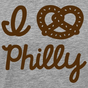 I Pretzel Philly T-Shirts - Men's Premium T-Shirt