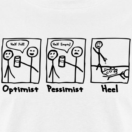 Optimist Pessimist Heel