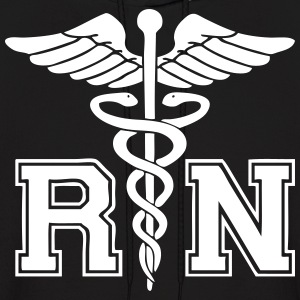 RN Registered Nurse Hoodies - Men's Hoodie