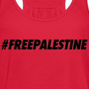 #FREEPALESTINE Tanks - Women's Flowy Tank Top by Bella