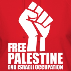 Free Palestine End Israeli Occupation Hoodies