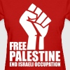 Free Palestine End Israeli Occupation Women's T-Shirts - Women's T-Shirt