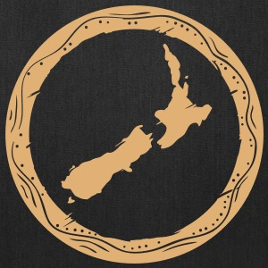 new zealand map Bags & backpacks - Tote Bag