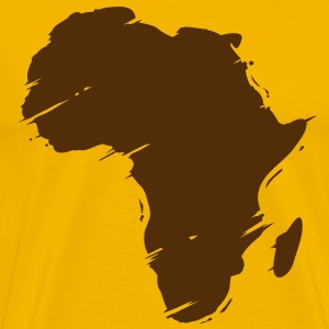 africa map T-Shirts - Men's Premium T-Shirt